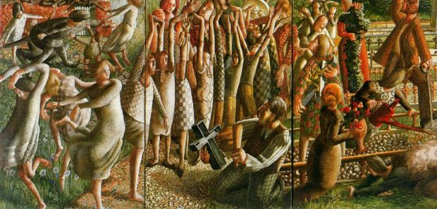 Stanley Spencer_the-resurrection