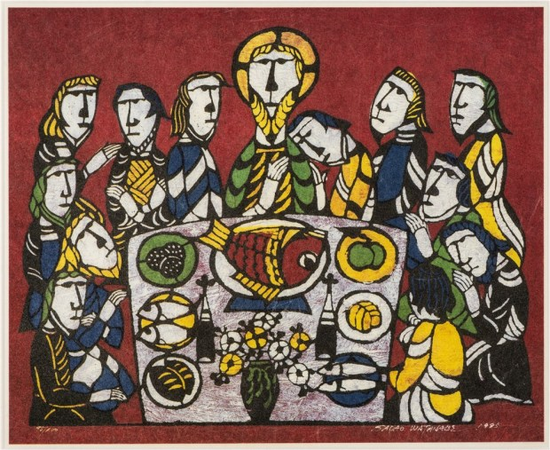 Sadao Watanabe_Last Supper_1995