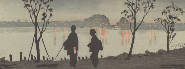 Kiyochika-Sumida River by Night-Detail-1881