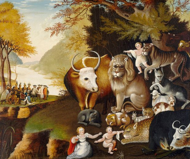 Edward_Hicks_-_Peaceable_Kingdom_1834_b