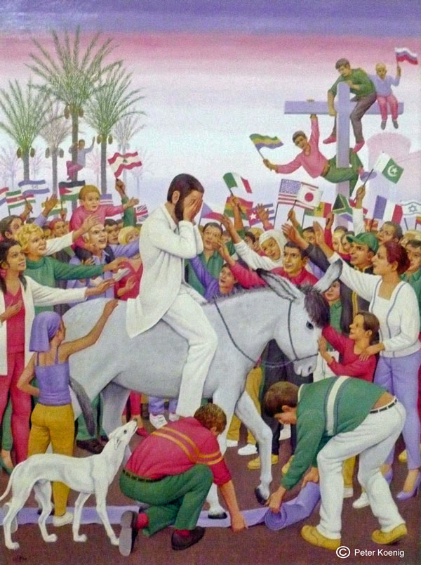 Art_Peter Koenig Palm Sunday
