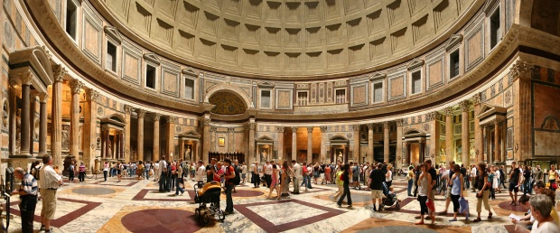 Photos_Einblick_Panorama_Pantheon_Rom