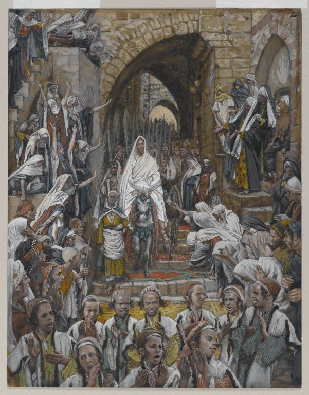 Art_James Tissot_The Procession in the Streets of Jerusalem