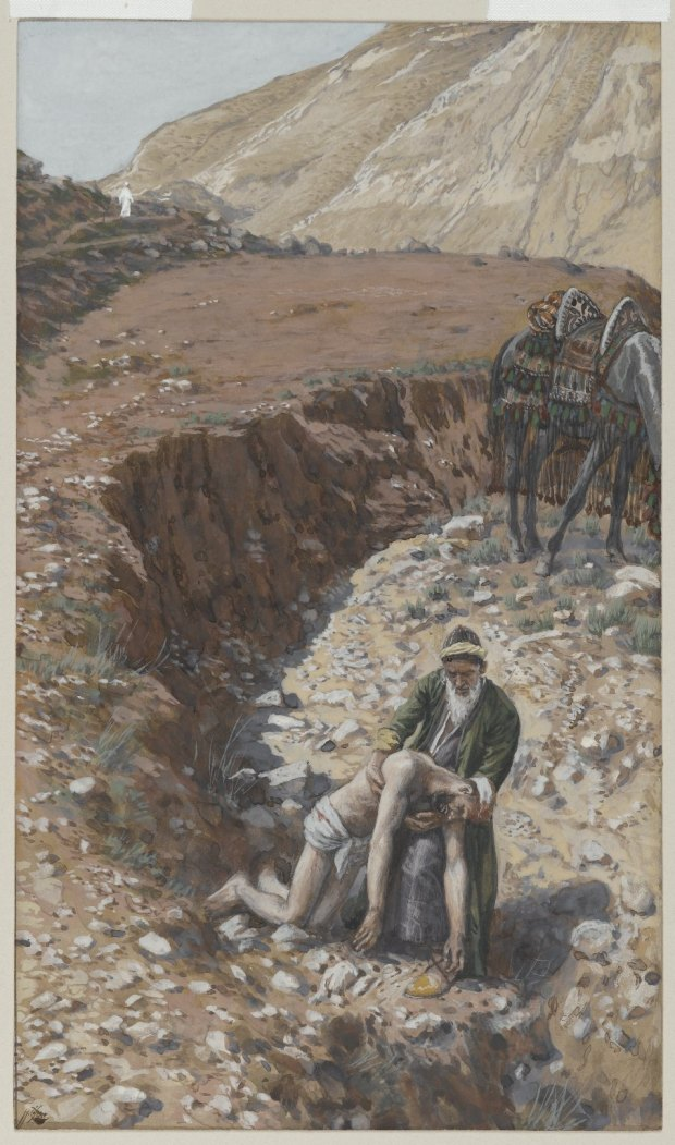 Art_Tissot_The Good Samaritan